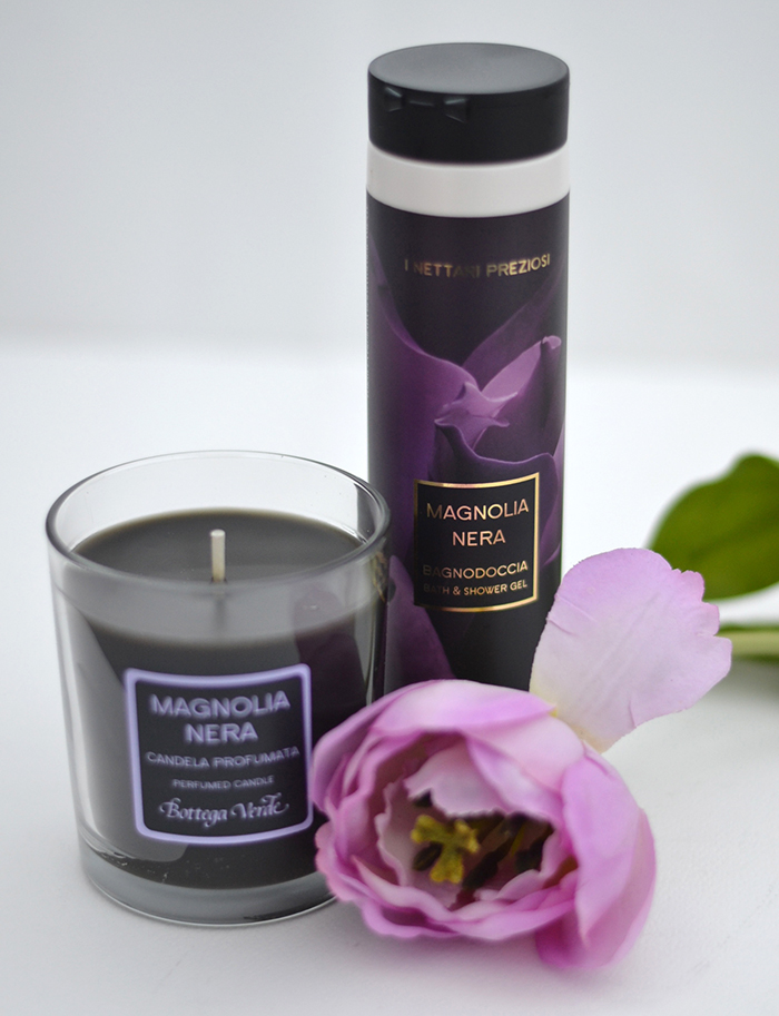 magnolia nera bottega verde