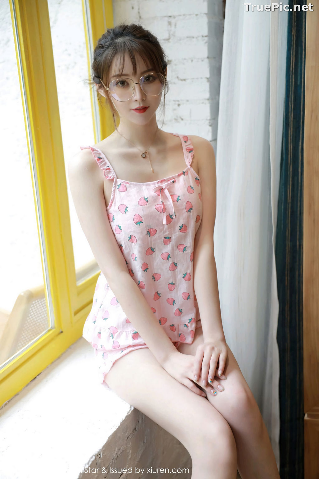 Image MFStar Vol.349 - Chinese Model Yoo优优 - Sexy and Cute Strawberry Girl - TruePic.net - Picture-5