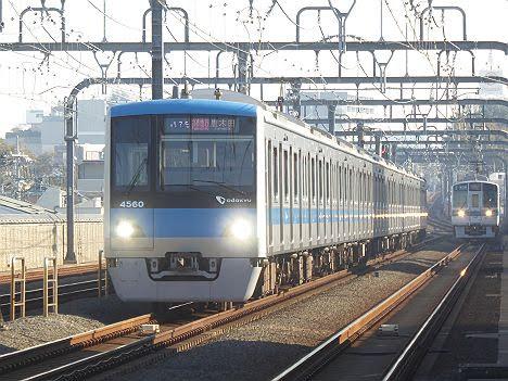 小田急電鉄 多摩急行 唐木田行き4 16000系(2018.3廃止)