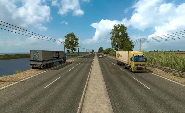 Map Jateng V2 Euro Truck Simulator 2