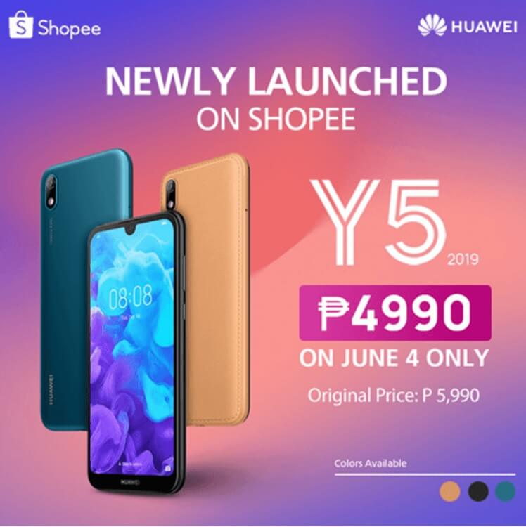 Huawei Y5 2019 Now Available in PH
