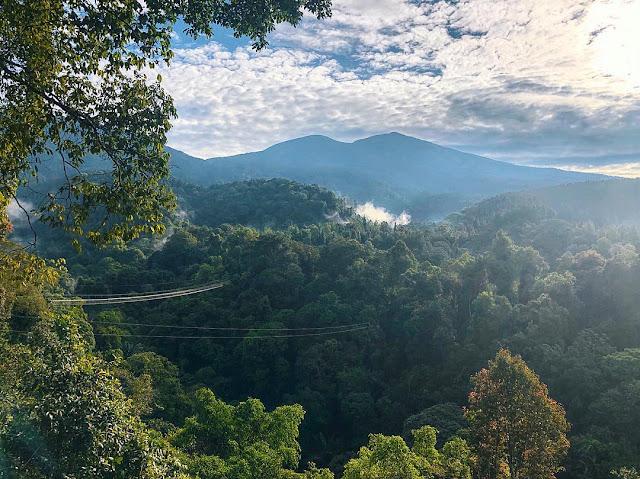 Jembatan Gantung Situ Gunung Suspension Bridge Sukabumi