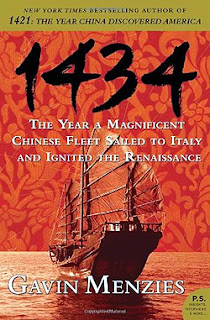 1434 - The Year a Magnificient Chinese Fleet Sailed to Italy