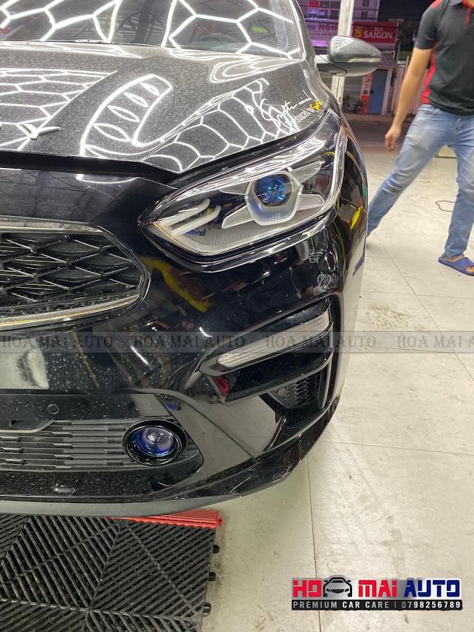 NÂNG CẤP ÁNH SÁNG GTR GLED-X & MẮT QUỶ ĐỔI MÀU CHO KIA CERATO TẠI HOA MAI AUTO