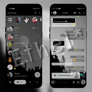 Night Moon Theme For YOWhatsApp & Fouad WhatsApp By Ethel
