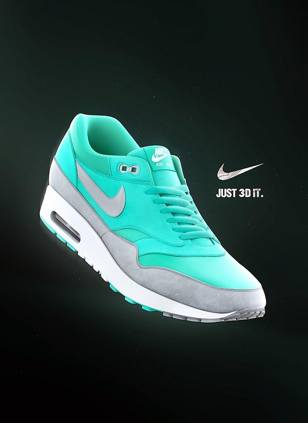 Download Nike Air Max 1 Premium 3d Model | Computer Graphics