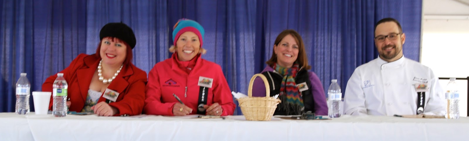 Judging the Alaskan seafood competition, Alaska state fair