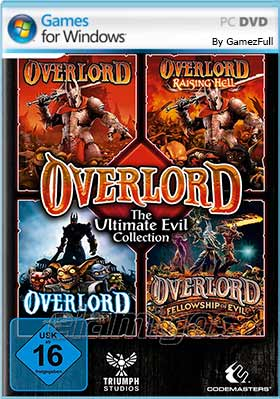 Descarga Overlord Ultimate Evil Collection pc mega y google drive