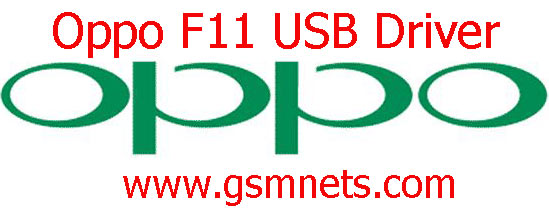 Oppo F11 USB Driver Download