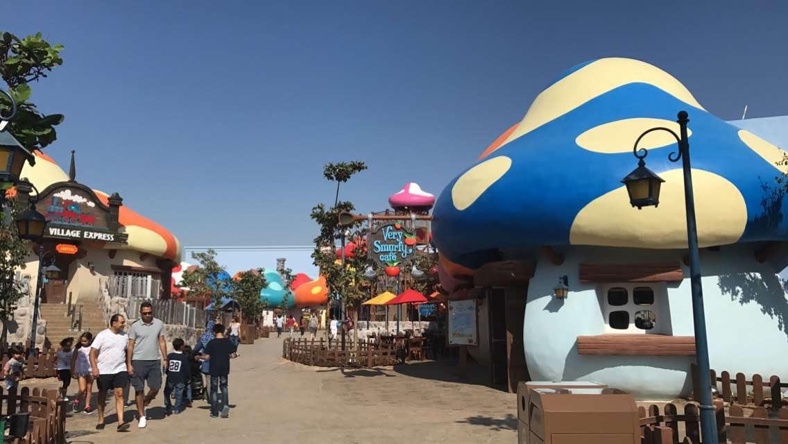 Q80 High Street: Dubai Trip: Motiongate. CityWalk رحلة دبي: ملاهي موشنغيتن  سيتي ووك