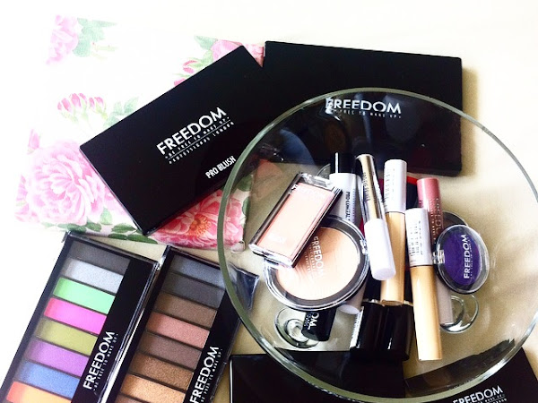 Enormous Freedom Make-up Haul and First Impressions