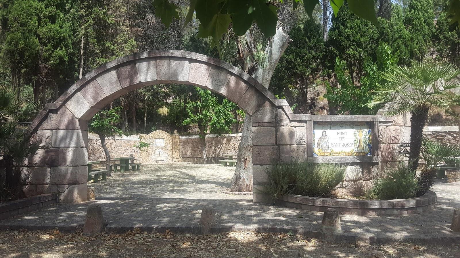 """Font de San Josep"" fountain, Serra, l'Oronet, Valencia, Spain"