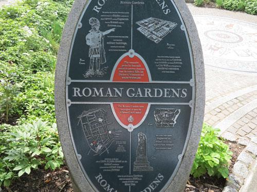Roman Gardens Chester, Cheshire