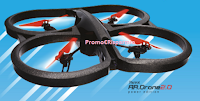 Logo Esselunga: vinci 56 droni Parrot AR .Drone 2.0 Power Edition
