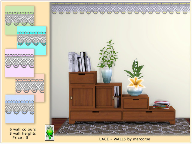 Стены со штукатуркой и покраской для Sims 4 со ссылкой для скачивания