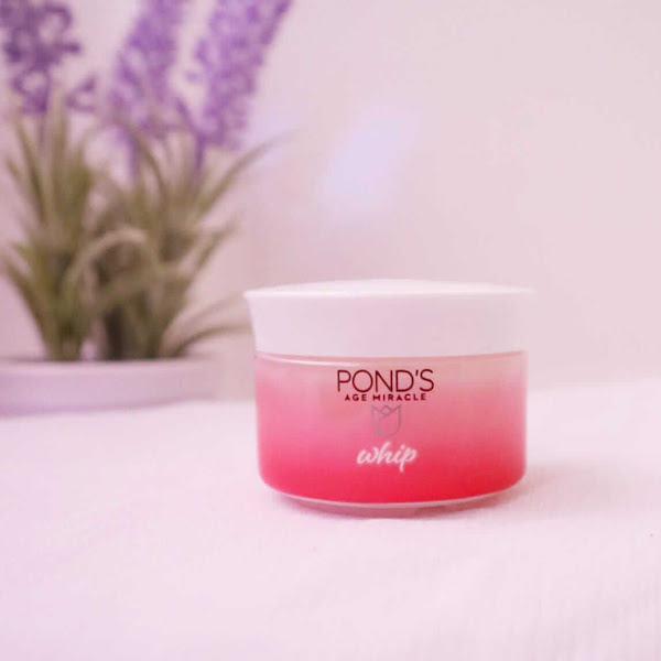 Review POND'S Age Miracle Whip Day Cream, Pelembab Anti Aging Untuk Kulit Kering