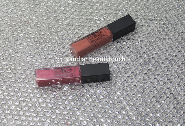 Maybelline India, Lips, liquid lipsticks, Maybelline Vivid matte Liquid Lipsticks in Nude flush & Nude thrill Review & swatches, Lipstick swatches, Makeup Products Review, Nude lipstick for Indians