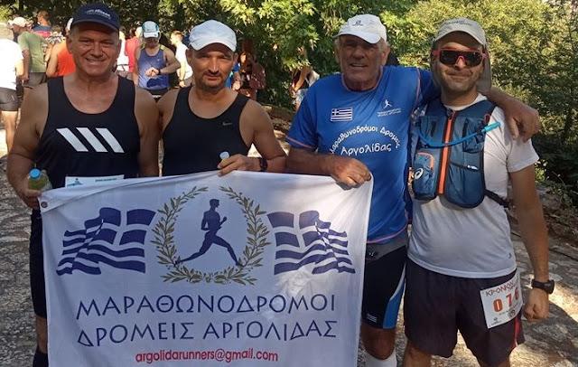 Αθλητές από την Αργολίδα στους αγώνες Κρόνιον - Ημικρόνιον Πέρασμα στην Κυνουρία