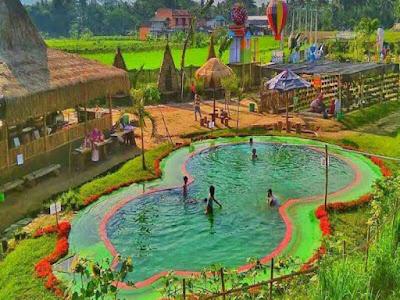 Kolam Ikan Taman BUnga Naura