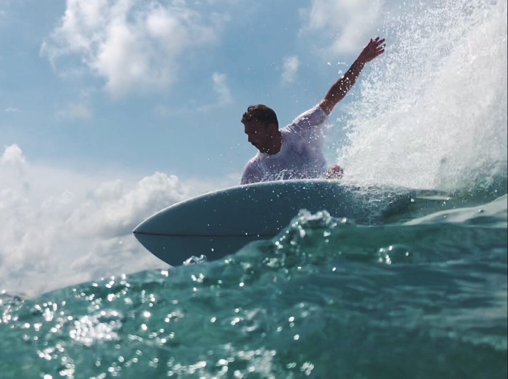 Vincent Lemanceau on Jane B - Surfin Estate