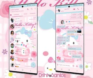 Hello Kitty Cute Theme For YOWhatsApp & Fouad WhatsApp By Driih Santos