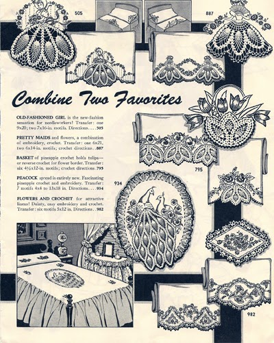 Crocheted Old Fashioned Girls Chair Set patterns from Laura Wheeler Design Catalog