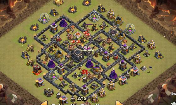 Base war th 9 terkuat kedua