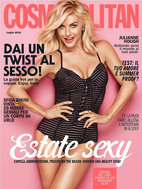 Actress, Singer, @ Julianne Hough - Cosmopolitan Italia, July 2016