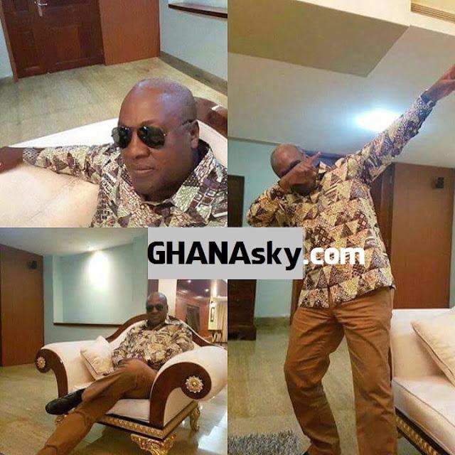 President John Dramani Mahama Happy Swagger