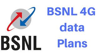 Best bsnl 4G data plans in India