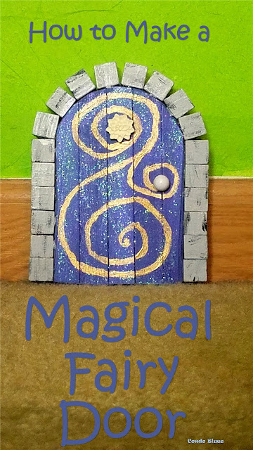how to make an easy fairy door