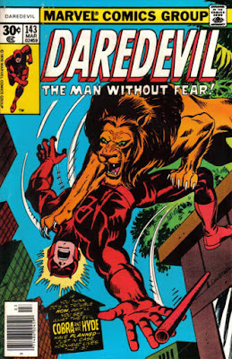 Daredevil #143, lion
