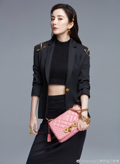 Yang Mi Versace Brand Ambassador