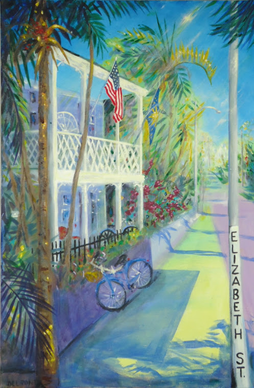"""ELIZABETH St."" Key West"