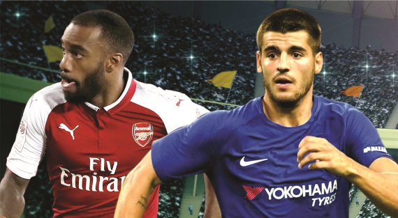 London rivals Arsenal and Chelsea face off at Wembley