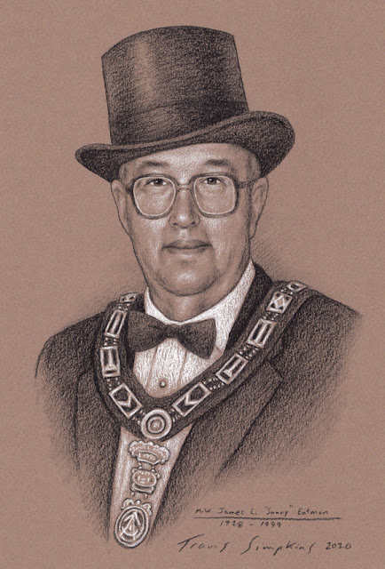 "M.W. James L. ""Sonny"" Eatmon. Past Grand Master. Grand Lodge of Nebraska. by Travis Simpkins"