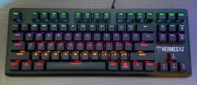 GAMDIAS Hermes E2 Mechanical keyboard in ₹3075 in India.