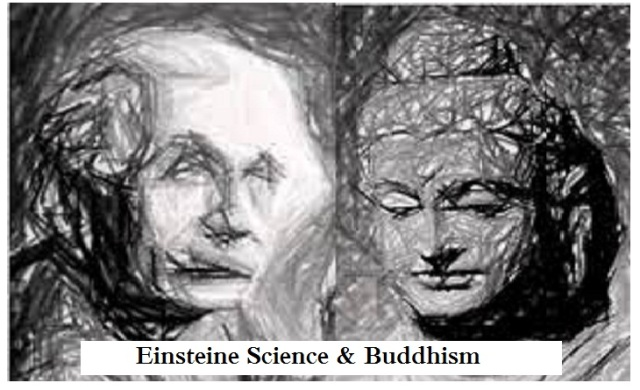 einstein on buddhism and scince