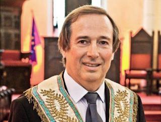 Ο αδ Philippe Charuel   νέος διδάσκαλος της Μεγάλης Στοάς της Γαλλίας