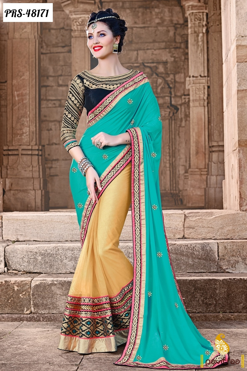 Latest Designer Lehenga Sarees Online Shopping For Diwali