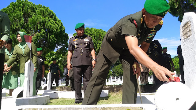 Ziarah Hari Juang TNI AD untuk Mengingatkan Sejarah Perjuangan Pendahulu