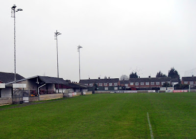 Brigg Town Football Club's EC Surfacing Stadium - previously known as The Hawthorns