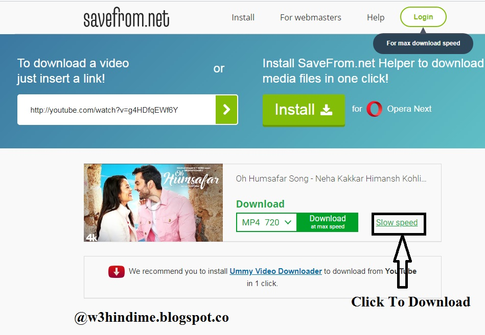 You tube se video kaise downlaod kare direct online or with download youtube video in hindi ccuart Choice Image
