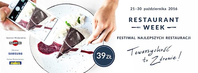Restaurant Week Polska na Spacerowej 21