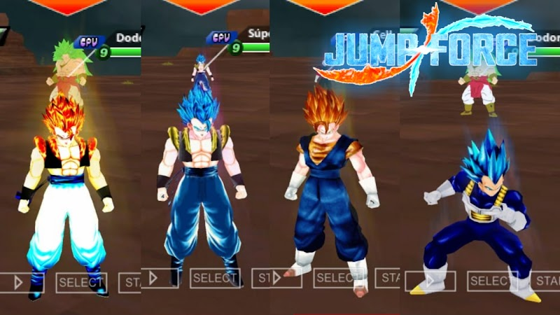 New Dragon Ball Z Game Jump Force For Android PSP DBZ TTT MOD ISO