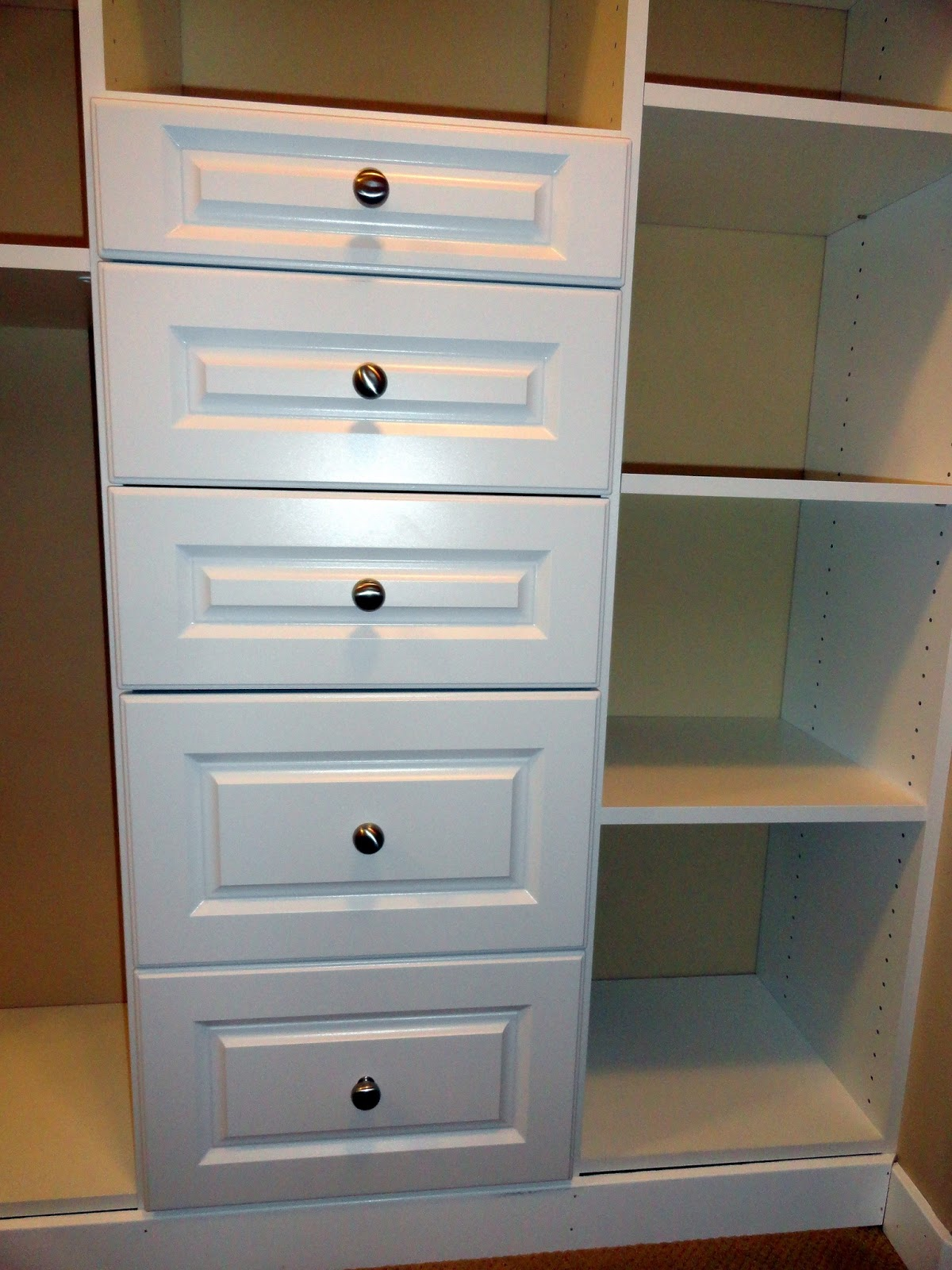 Master Closet Built In Progress Rachel Teodoro