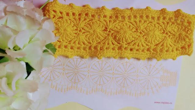 Patrón de cintillo a crochet