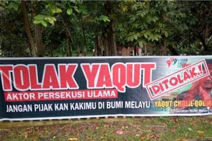 Dianggap Dalang Penolakan UAS, Yaqut Cholil Dilarang Injakkan Kaki di Pekanbaru