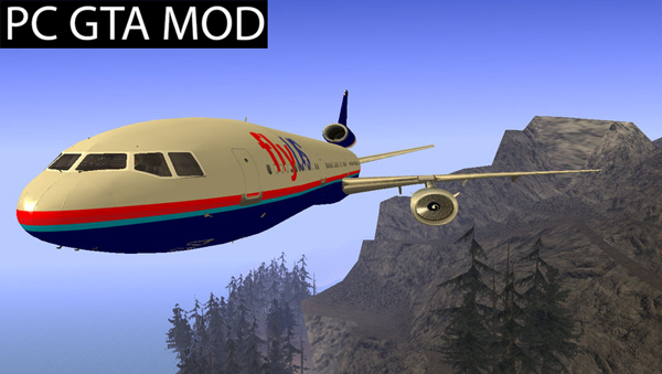 Free Download DC-10 Fly Us Mod for GTA San Andreas.
