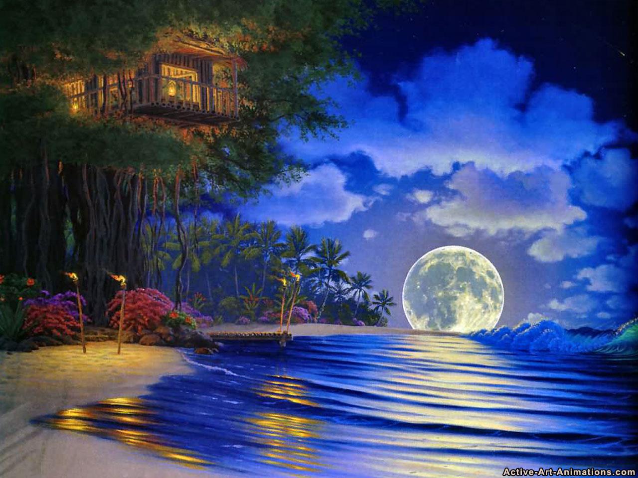 Dipinti Di Paesaggi Marini Us 70 2 22 Di Sconto Quadri Astratti